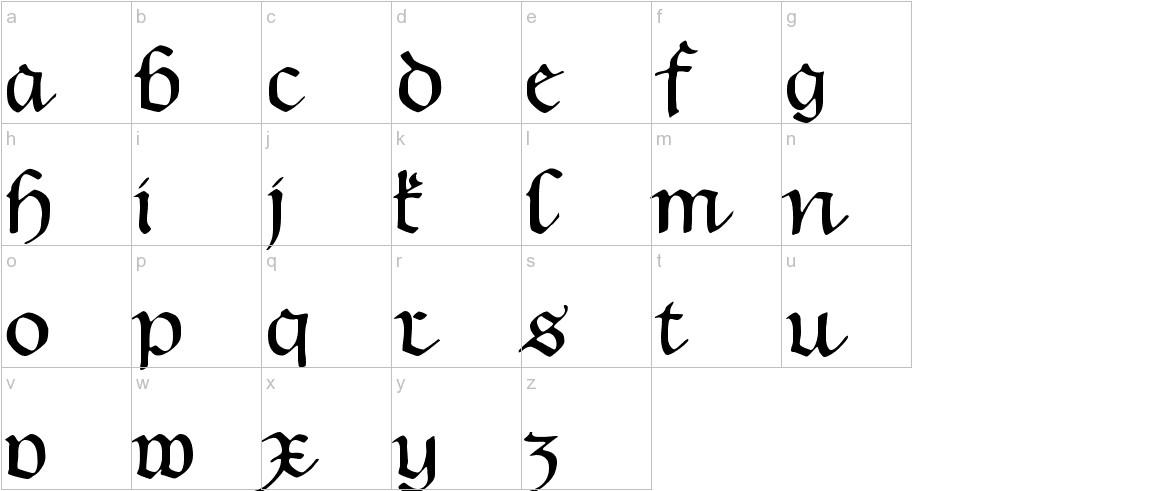 Hentimps Circlet lowercase