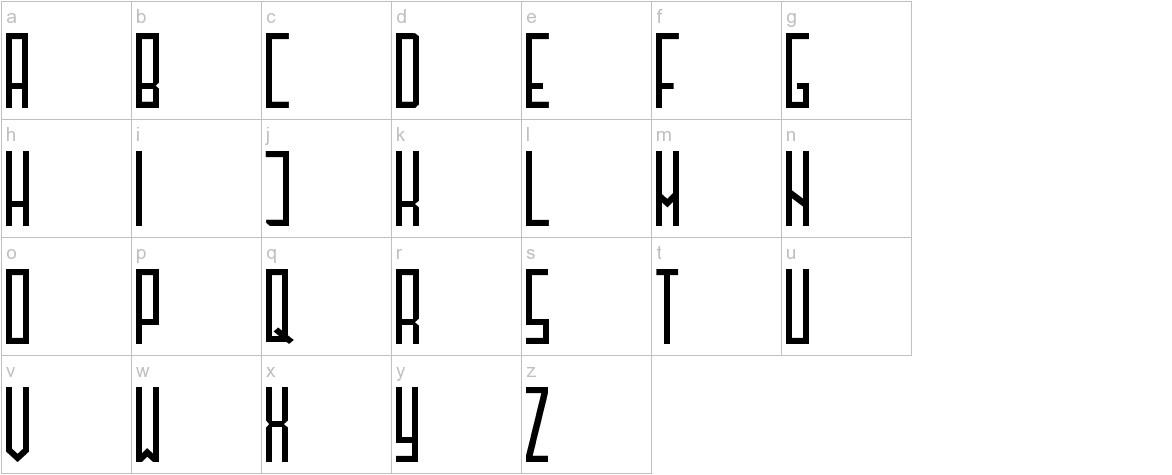 Henzy30 lowercase