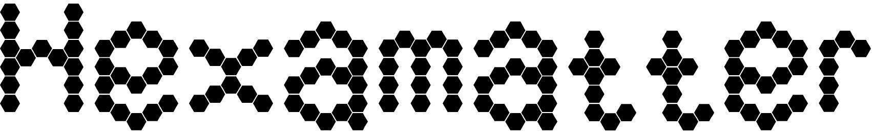Hexamatter