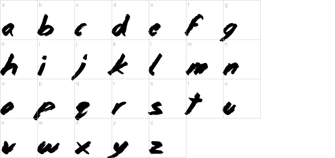 Home and Away lowercase