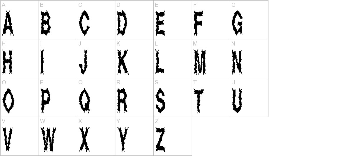 Dead Alive uppercase
