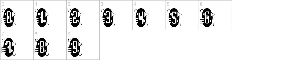 Decorette characters