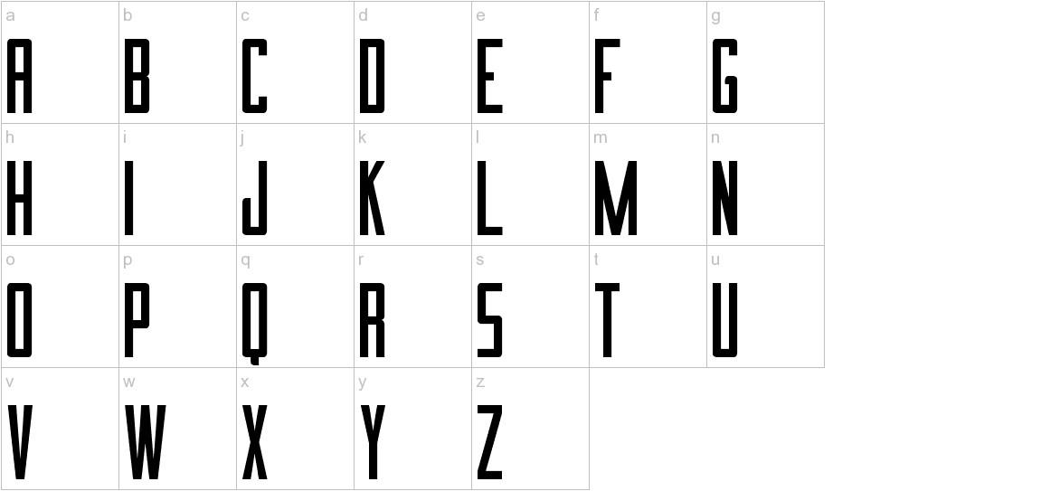 Imnova St lowercase