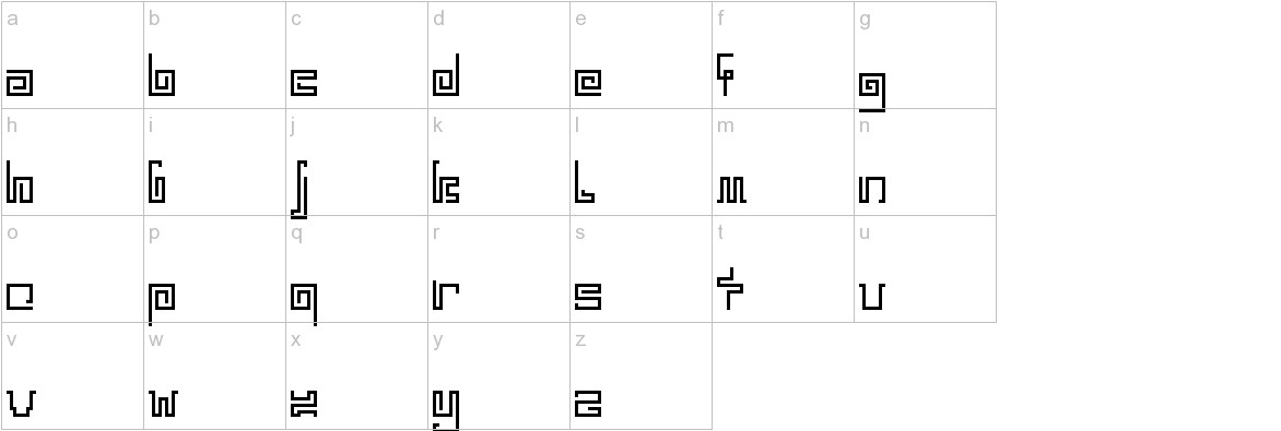 India Snake Pixel Labyrinth Game lowercase