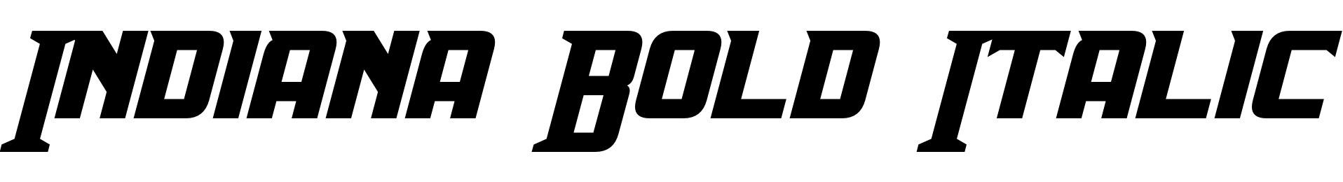 Indiana Bold Italic