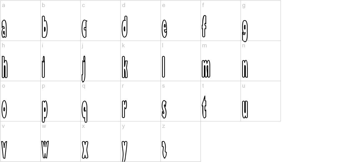 Bazzomba lowercase