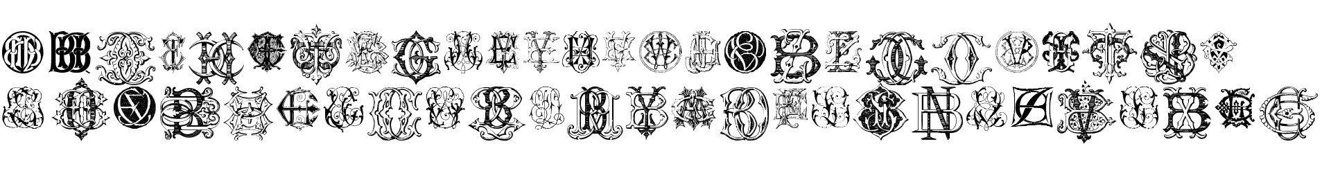 Intellecta Monograms Random Samples Eleven