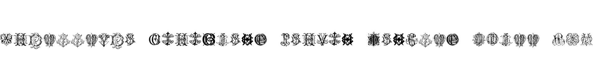 Intellecta Monograms Random Samples Three.vfb