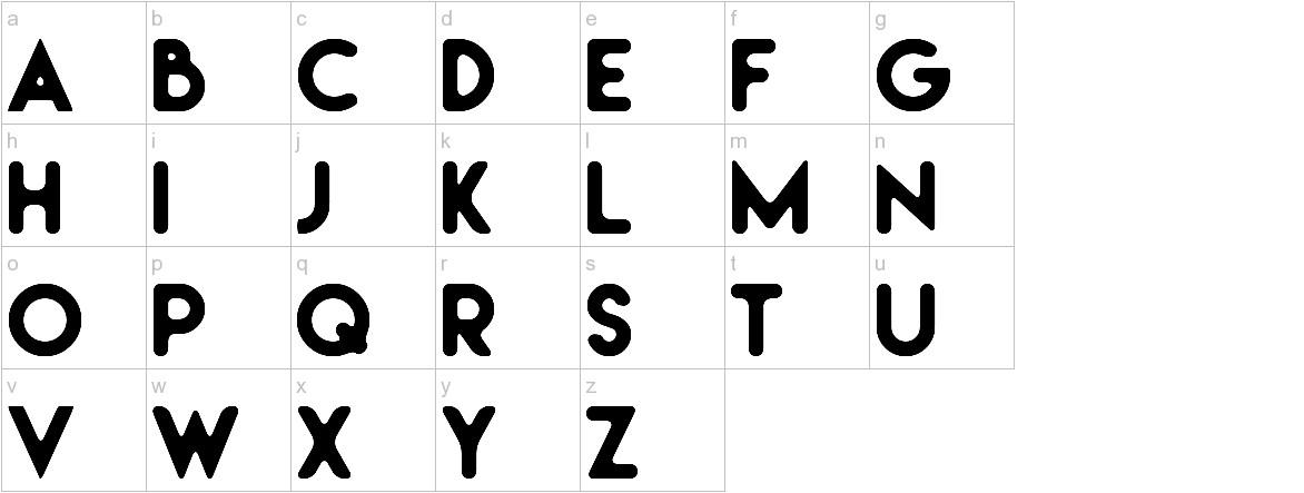 Irresistible lowercase