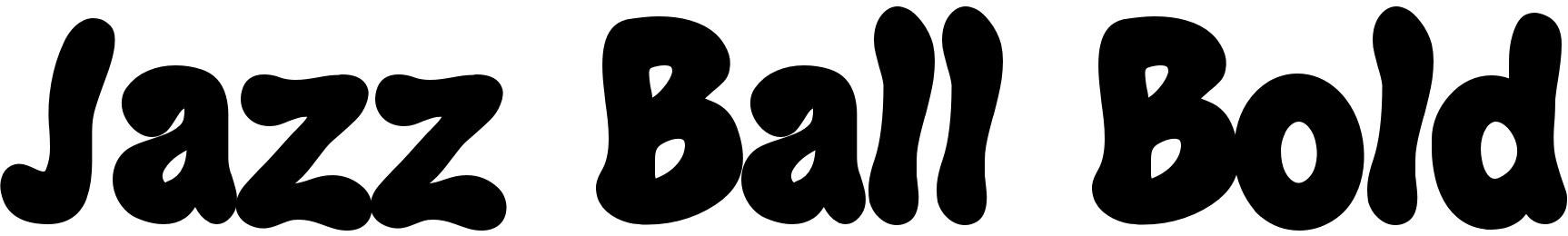 Jazz Ball Bold