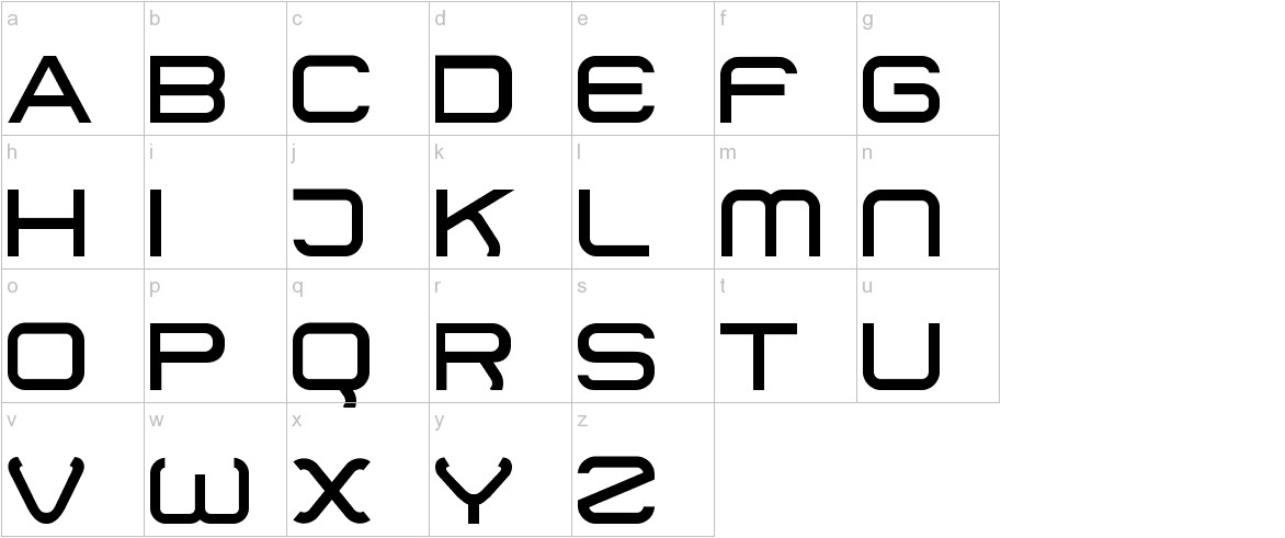 01 DigitMono lowercase