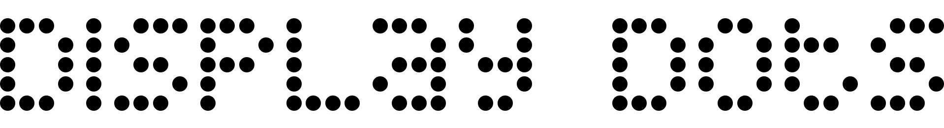 Display Dots