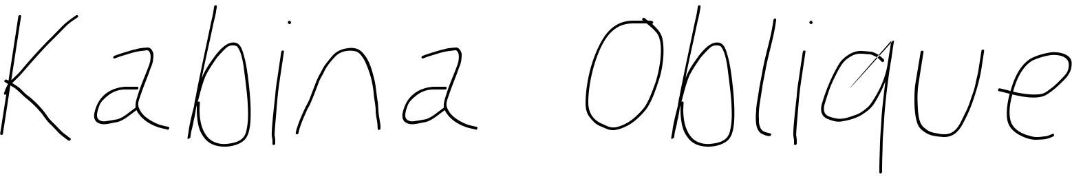 Kabina Oblique