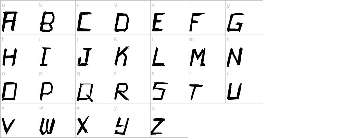 Kamikaze lowercase