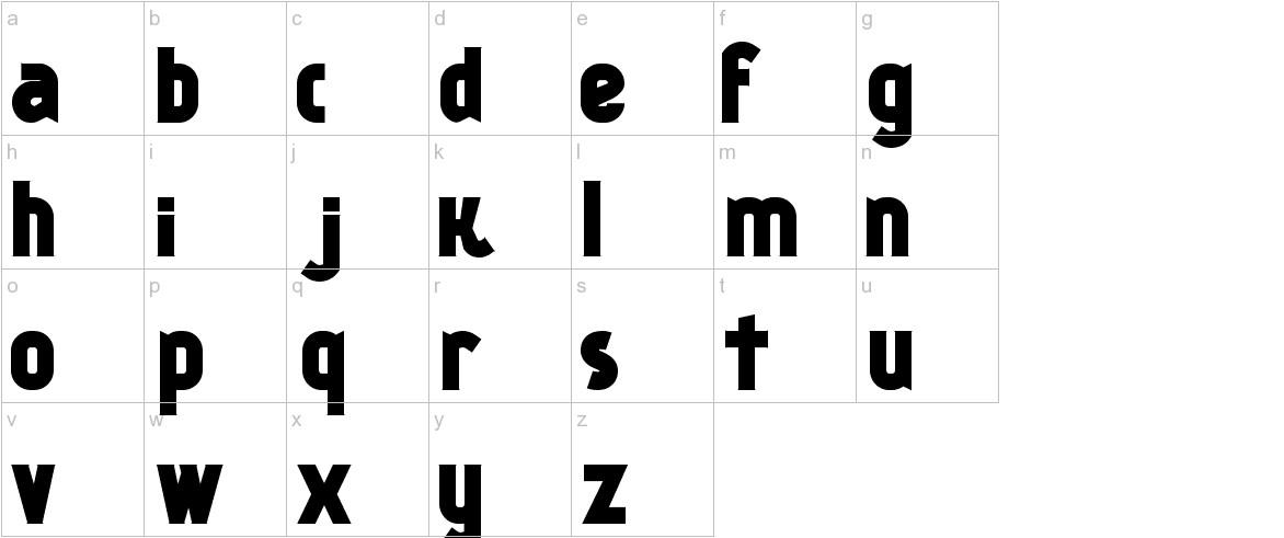 Kankin lowercase
