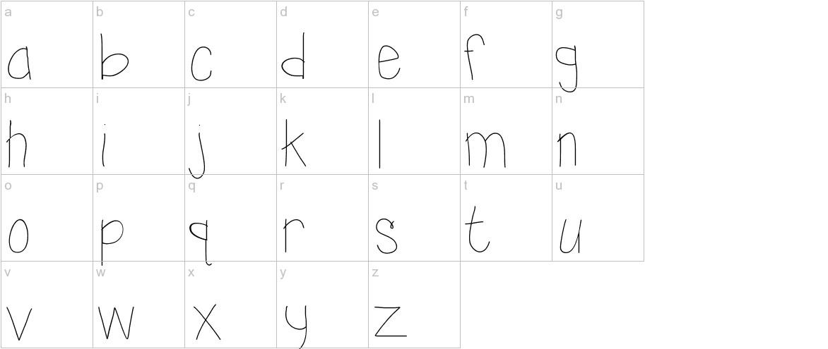 KBSunshine lowercase