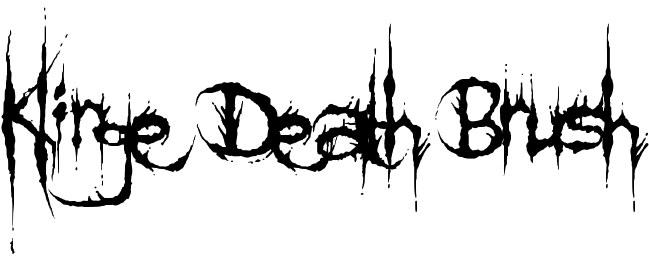 Klinge Death Brush