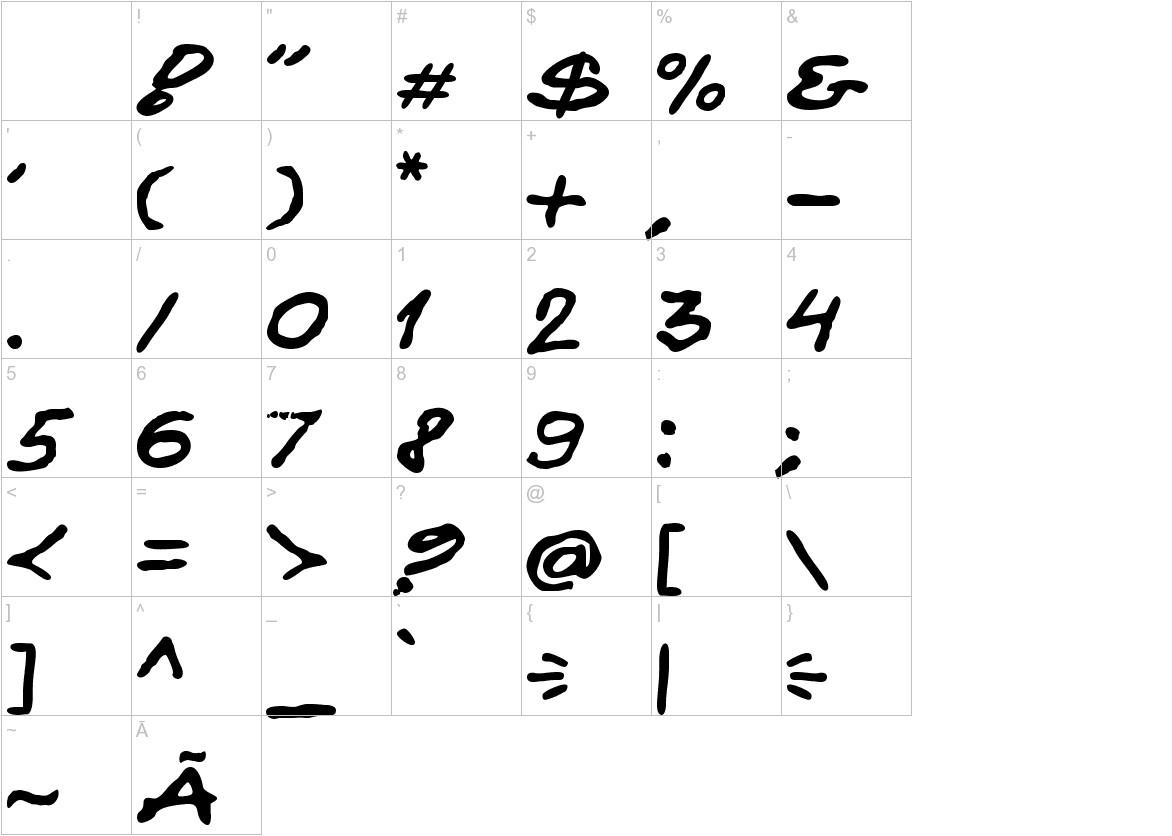 Kokan characters