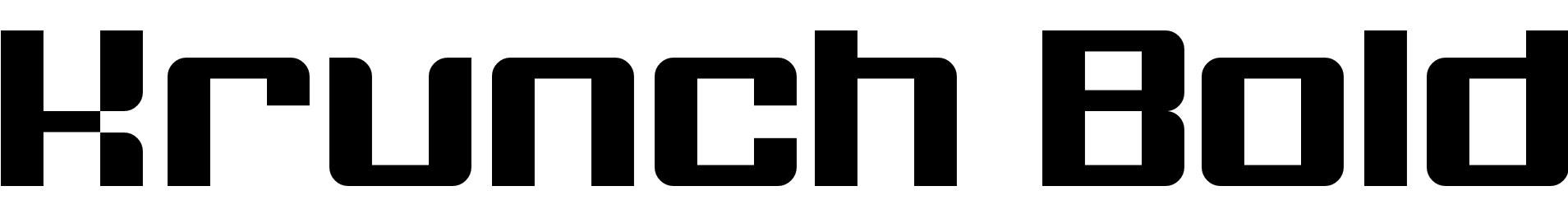 Krunch Bold