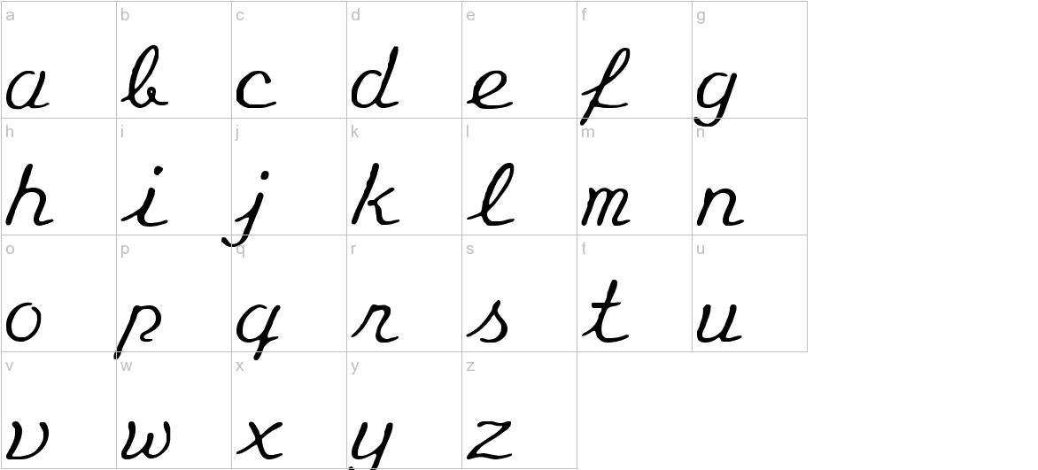 Eminenz lowercase