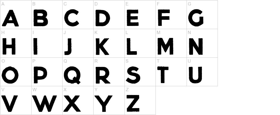 Lietz Block uppercase