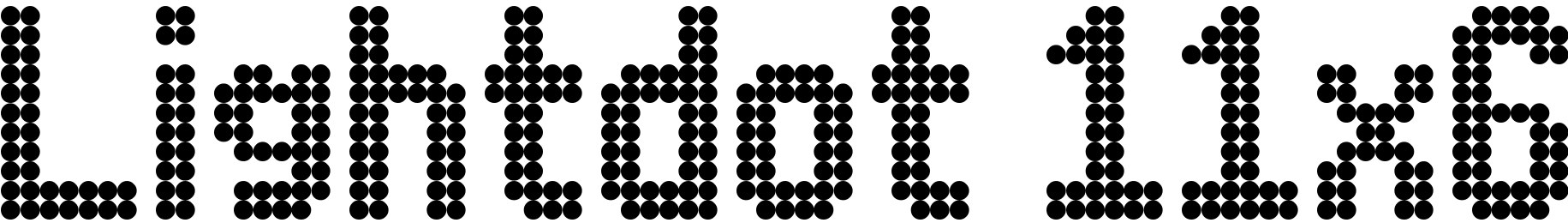 Lightdot 11x6