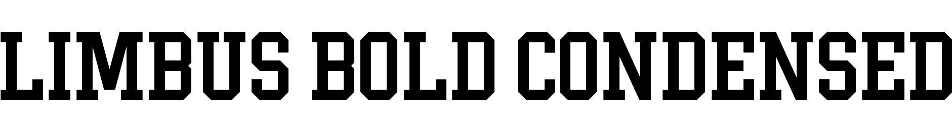 Limbus Bold Condensed
