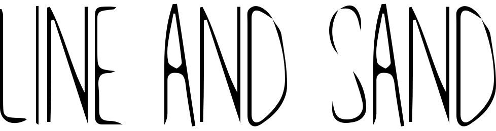 Line and Sand