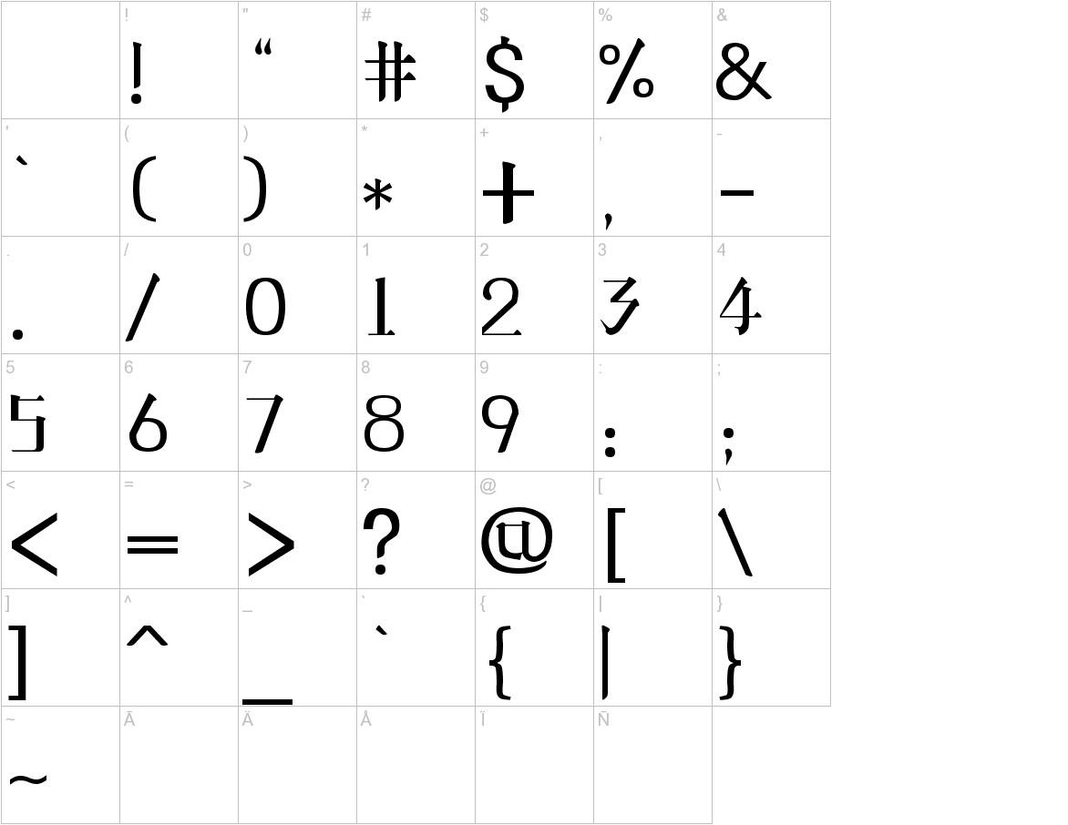 line-phone-font  characters