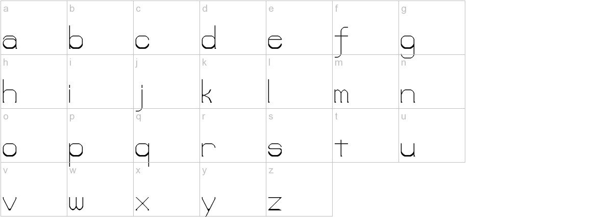 lower-lay lowercase