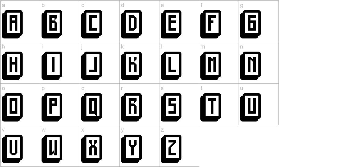 mahjong toy block lowercase