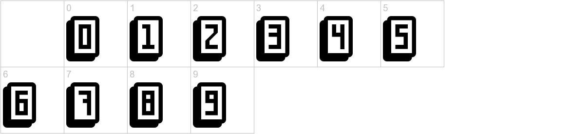 mahjong toy block characters