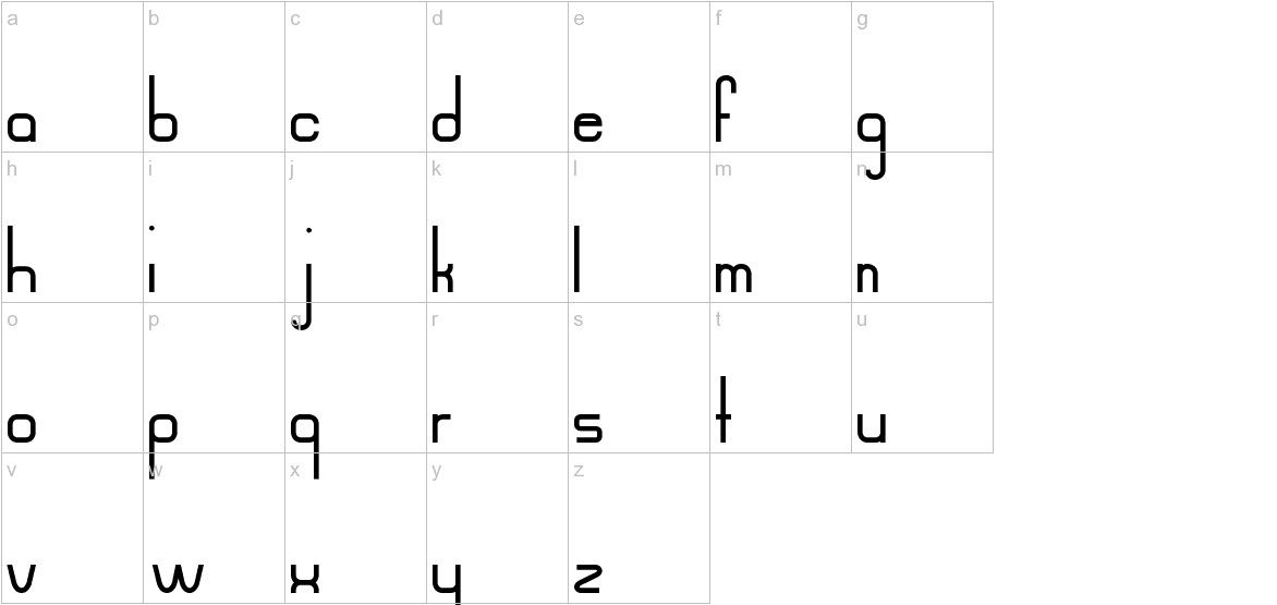 Mahsuri lowercase