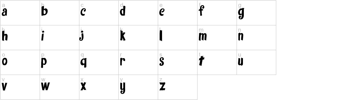 fantasticfont lowercase
