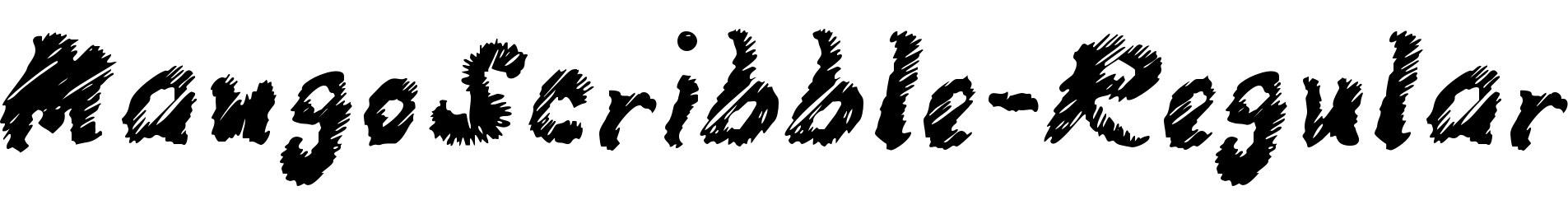 MangoScribble-Regular