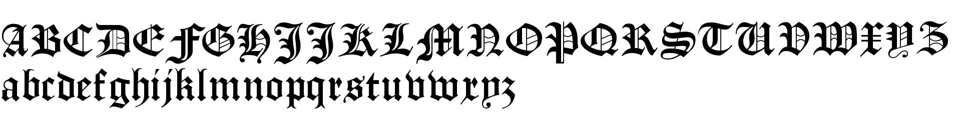 Manuskript Gothisch