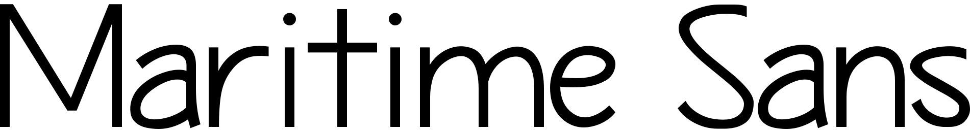 Maritime Sans
