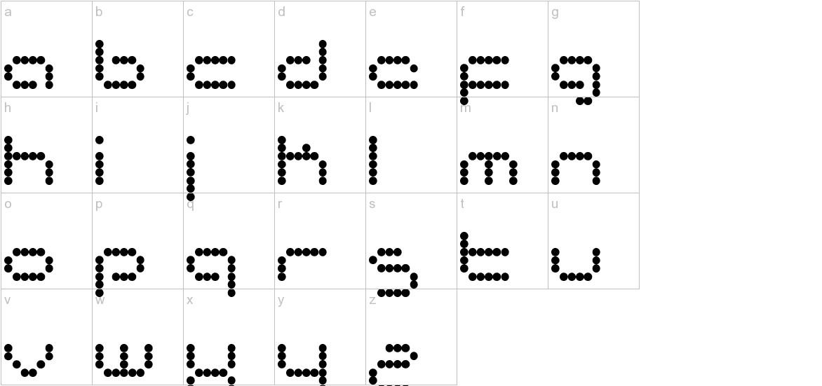 matrixtron lowercase