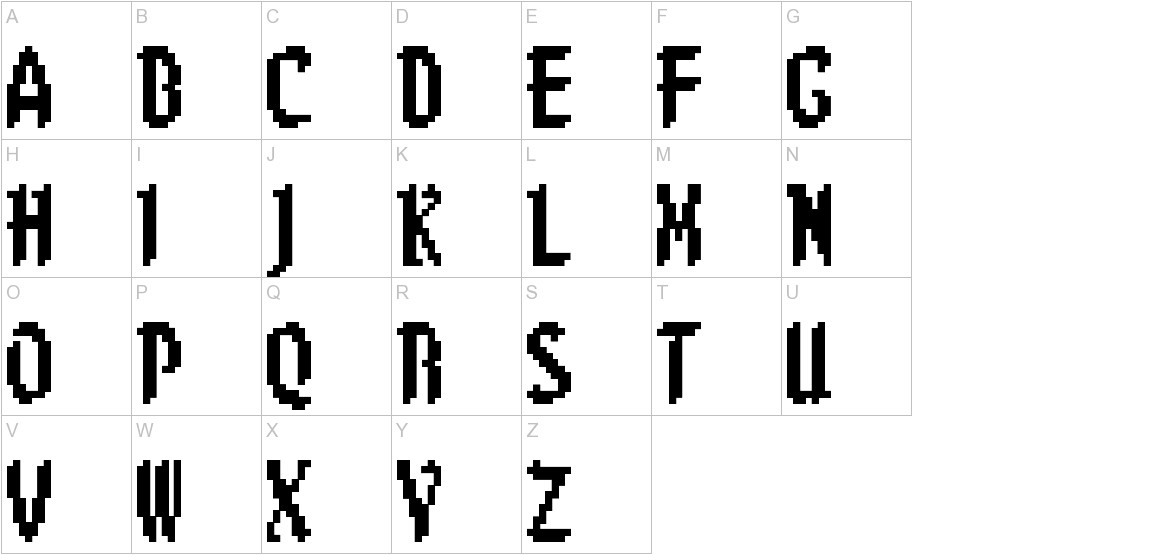 8-bit Limit (BRK) uppercase