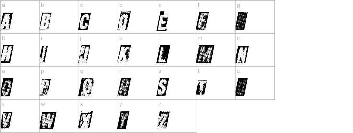 MetalblockUltra lowercase