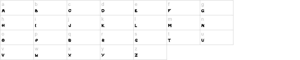 MichiNoInku lowercase