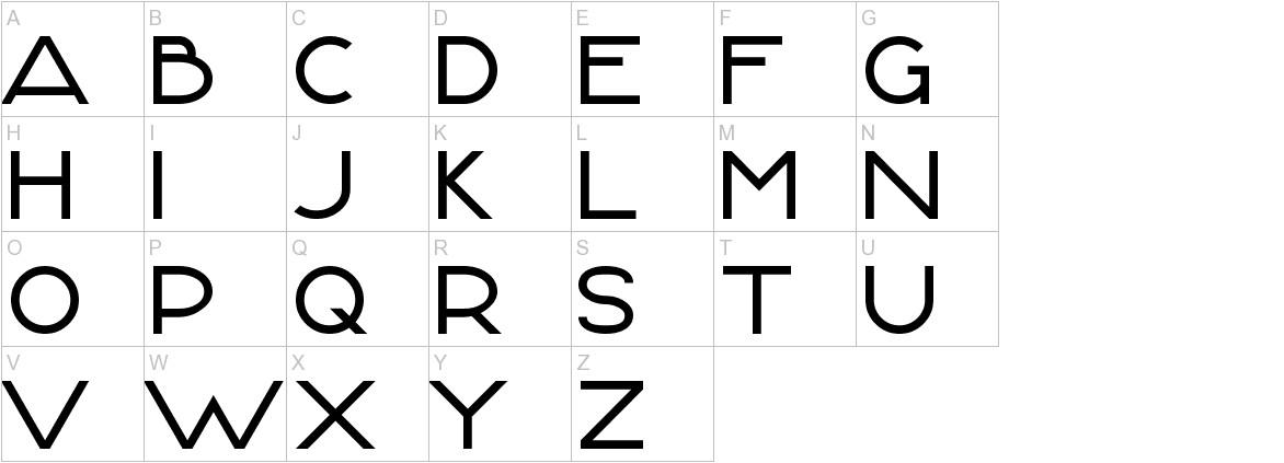 FontLogic uppercase