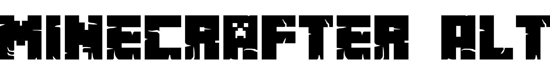 Minecrafter Alt
