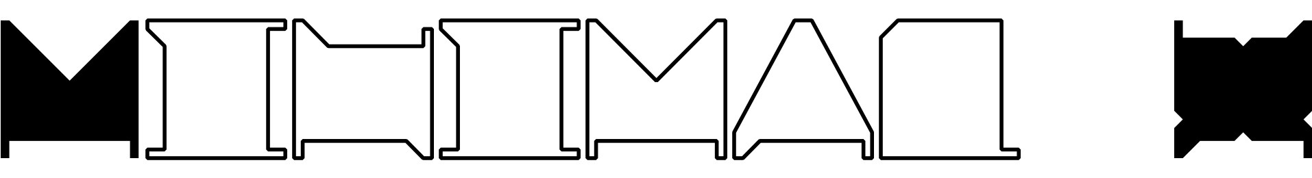 Minimal X