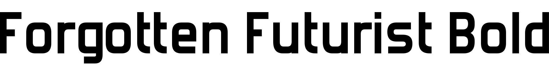 Forgotten Futurist Bold