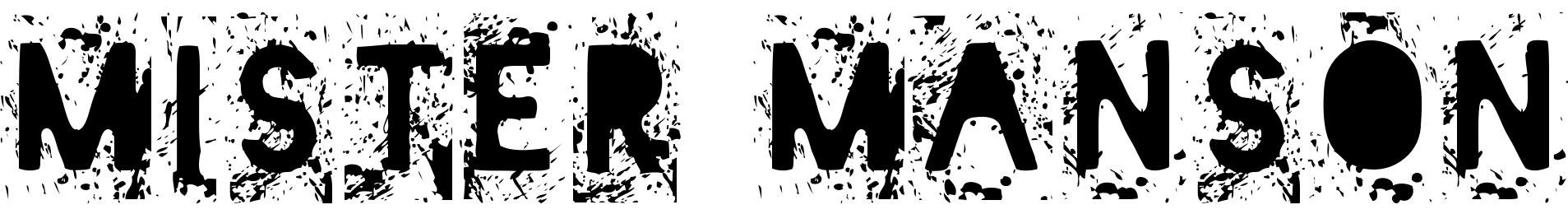 Mister Manson