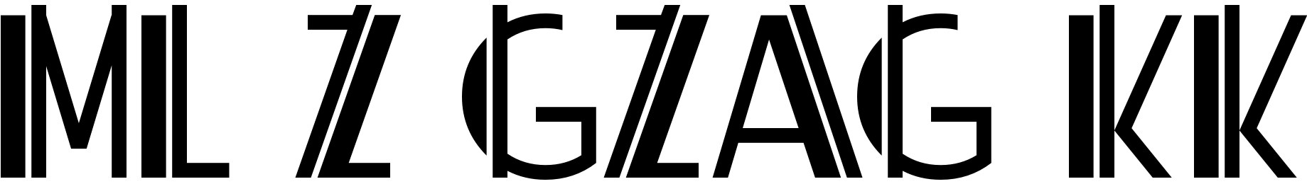 ML ZigZag KK