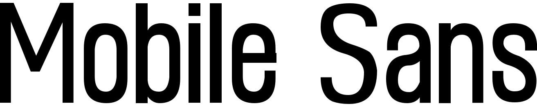 Mobile Sans