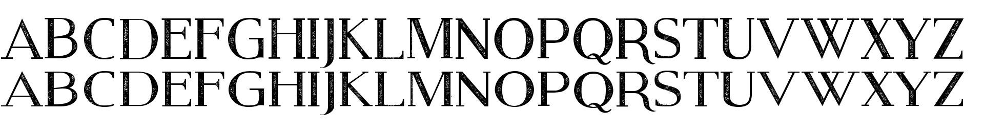 Modern Serif Eroded