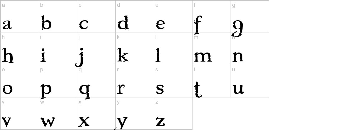 Freebooter lowercase